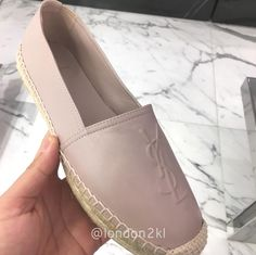 YSL  Espadrille RM2,200.jpg ❤❤❤ it? Order now. Once it's gone, it's gone! Just WhatsApp me +44 7535 715 239, Erwan.  Click my account name for other great items. #l2klYSL #l2klYSL #l2klYSL