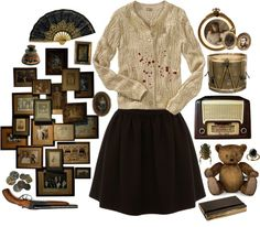 """""""Horror House"""" by herimperialhighness on Polyvore"""