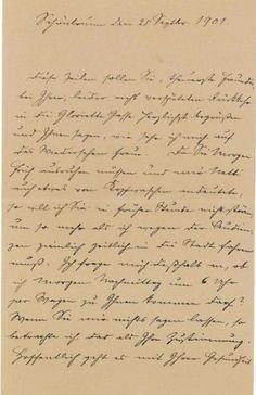 Letter sent to Franz Joseph dating from 1901 sent to Schonbrunn by Katharina Schratt From Dorootheum Vienna Her World, Sissi, Vienna, Art Images, Joseph, Sheet Music, Lettering, Amelie, Austria
