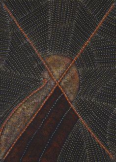 peintures aborigènes  http://www.letempsdureve.com/les-peintures-moutain-devil-lizard_4_547.html