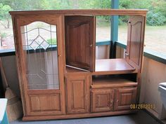 Up-cycling an Obsolete Entertainment Center