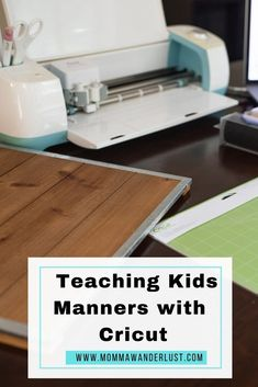 #ad #cricutmade Teaching Kids Manners, Manners For Kids, Help Teaching, Road Trip With Kids, Travel With Kids, Family Travel, Family Vacations, Writing About Family, Family Friendly Resorts