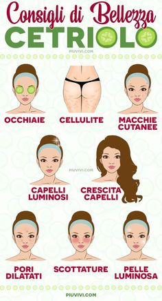 Consigli Di Bellezza: Cetriolo Beauty Tips Using Cucumber: Bags Under Eyes And Dark Circles; Beauty Care, Diy Beauty, Beauty Skin, Beauty Hacks, Natural Hair Mask, Natural Hair Styles, Natural Beauty, Dilated Pores, How To Grow Eyebrows