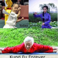 Kung Fu Forever!