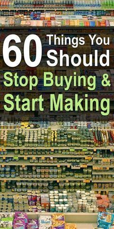 Once you know how to make everyday cleaning products and your favorite kitchen condiments, you'll save heaps of money and remove tons of chemicals from life. Info Board, Frugal Living Tips, Frugal Tips, Living On A Budget, Living Off The Land, Saving Ideas, Money Saving Tips, Money Tips, Money Hacks