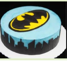 Batman cake...somebody needs to get me this forreal :)