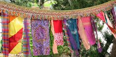 Gypsy Celebration Flags by Art to Go