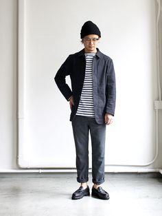 Stripe minimal black
