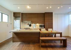 オリーブグリーンな家 ・間取り(東京都世田谷区) | 注文住宅なら建築設計事務所 フリーダムアーキテクツデザイン