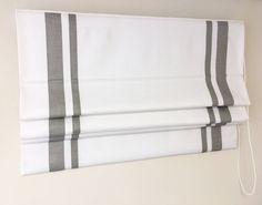 Faux Roman Shade Valance Custom Order Lining Fabric