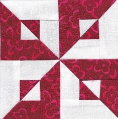 Red, White & You Midget Block : Betty's Choice