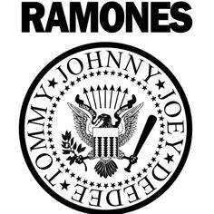 Estampa para camiseta Ramones 000308 - Customize Transfer