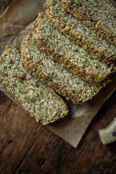 Heather's Toasted Super Seed Power Bread from Yum Universe (Vegan, GF)
