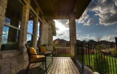 Our Gallery Collection covered patio in Rough Hollow #Lakeway