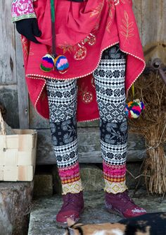 """""""Sirja"""" cotton leggings – Accessories – GUDRUN SJÖDÉN – Webshop, mail order and boutiques 