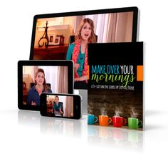 After months of planning, brainstorming, writing, editing, tweaking, filming, more editing, more tweaking, and lots and lots of effort, I couldn't be more excited to finally be announcing the launch of my brand-new course — Make Over Your Mornings!  I've never invested so much $$ or time into any project as far as I can remember. But it was worth it, because the finished product is amazing. Truly. I've never been more excited about something we've put together.  Click through for all the…