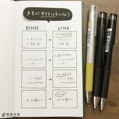 メモにタイトルをつけよう Diary Planner, Sketch Notes, Typography, Lettering, Book Illustration, Stationery, Notebook, Bullet Journal, Study
