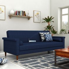mesmerise your guest with this hover fabric sofa cum bed which with its