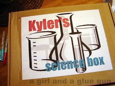 Cool gift for young kids. Box of science experiments you put together. Great idea for when they're bored.