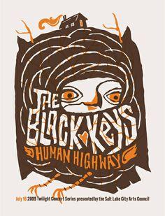 Black Keys - Gig poster