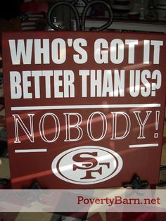 $25 The perfect gift for a 49ers fan!