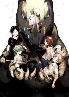 Eve Songs, Manga Art, Anime Art, Eve Music, K Project Anime, Vocaloid, Tim Drake Red Robin, Rock & Pop, Wolf Artwork