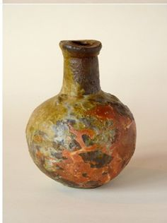 Chester Nealie 'Small Bottle' (H160mm) Small Bottles, Chester, Clay, Pottery, Ceramics, Sculpture, Japanese Style, Artist, Stone