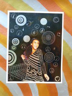 The Calvert Canvas: Adventures in Middle School Art!: Golden Portraits inspired by Gustav Klimt