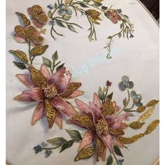 Flight Tracker Leaf Hair Comb Exquisite Traditional Embroidery Art Health & Beauty