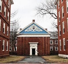 Holden Chapel in Harvard Yard.  DiscoverHarvard.com