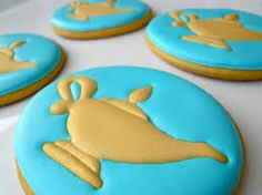 Here's a look at our Arabian Nights cookie collection from a recent Princess Jasmine birthday party. Aladdin Y Jasmin, Aladdin Cake, Aladdin Party, Jasmine Aladin, Arabian Party, Arabian Nights Party, Jasmine Cake, Princess Jasmine Party, Bridal Shower Tea