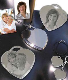 Bijou pendentif cœur personnalisé 21,90€ Gravure Photo, Photos, Style, Tiffany Jewelry, Swag, Pictures, Outfits
