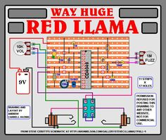 "THE INFAMOUS (that means ""more"" than famous...sorry...Three Amigo's fan) WAY HUGE RED LLAMA !"