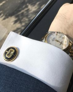 """Create harmony and smooth journey to the ultimate success + Enhance power and increase wealth with """"Elite & Luck"""" Lemon Quartz + Black Onyx Sterling Silver Cufflinks, 18K Yellow Gold plated, Prestige Model Available now at www.eliteandluck.com"""