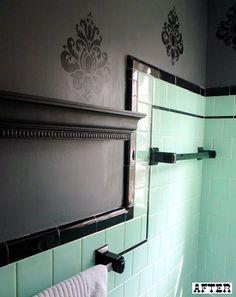 before & after: katy's bathroom + shanni's kitchen | Design*Sponge