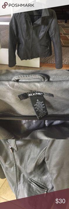 Alfani jacket Barely work gray Alfani jacket!! Size small! No tears or holes. Great condition! Alfani Jackets & Coats