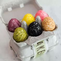 Rice Krispie Easter Eggs From Bouchon Bakery (via foodily.com)