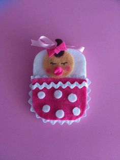 Broche d fieltro
