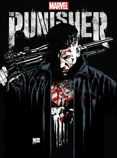 Official San Diego Comic-Con poster for The Punisher by Joe Quesada