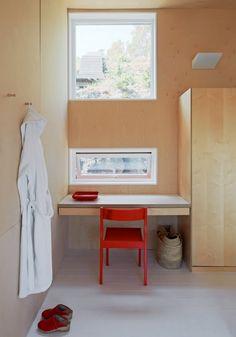La maison d'Anna G.: contreplaqué Love the windows