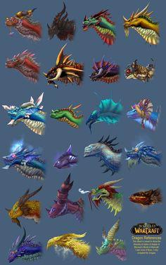 World of Warcraft Dragon Styles Some of the best World of Warcraft pics. Find the best WoW items and cheapest WOW gold at http://www.raiditem.com/