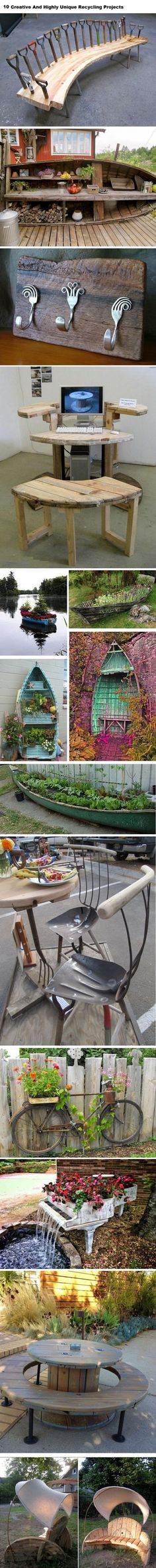 10 Creative And Highly Unique Recycling Projects