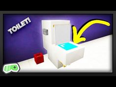 Minecraft - How To Make A Toilet - YouTube
