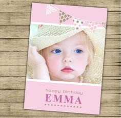 Birthday or baby shower invitation printable  Custom by ByYolanda, €11.00