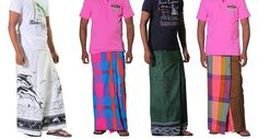 Sarong - A highly favoured traditional men's dress.