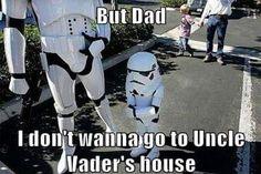Pouting storm trooper