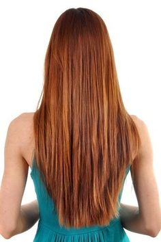 V-shaped Back Ideas for Straight and Wavy Hair - V-ariations   hairstyles   Scoop.it
