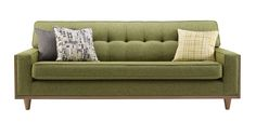 G Plan vintage The Fifty Nine large sofa in Marl Green. Available in store at Cookes Erdington.