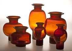 ASP im. Mid-century Modern, Modern Vases, Mid Century Design, Teak, Glass Art, Candle Holders, Objects, Art Deco, Porcelain