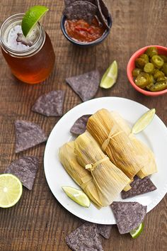 The Salty Tomato | Vegan Tamales – Meatless Monday | http://the-salty-tomato.com